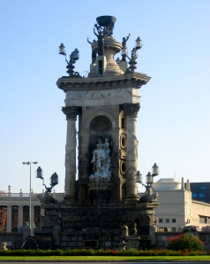 Plaza d'España by day