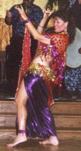 Diana belly dancing