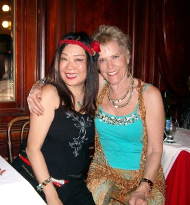 Diana with Juliet, a BAires expat from Canada