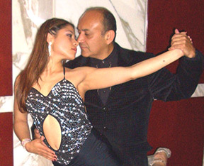 great milonga dancers Jorge & Milena Nel