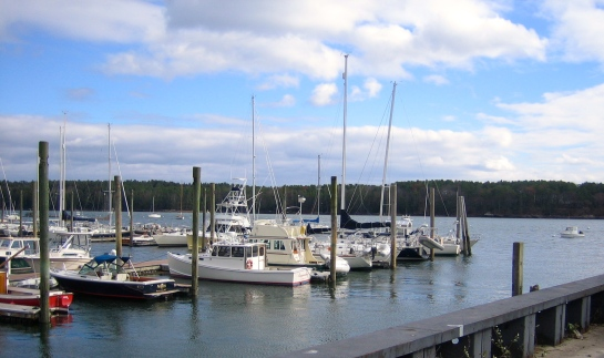 Maine Weekend Harbor