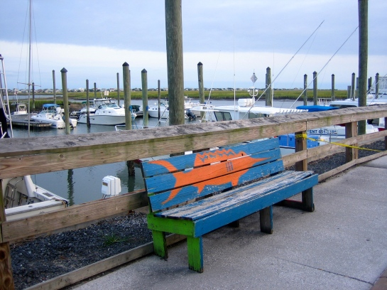 Art on the docks