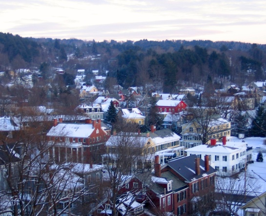 pretty Montpelier at Christmas