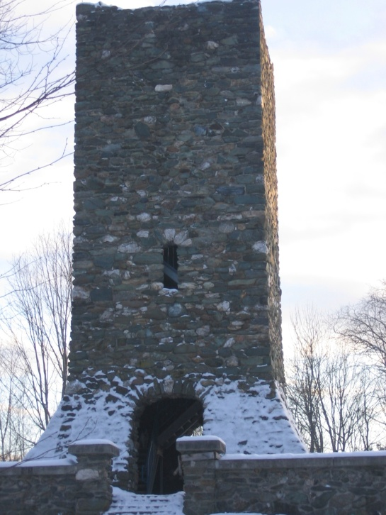 the old stone tower