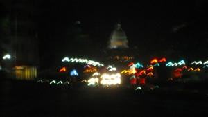 Tango near the Capitol Dome