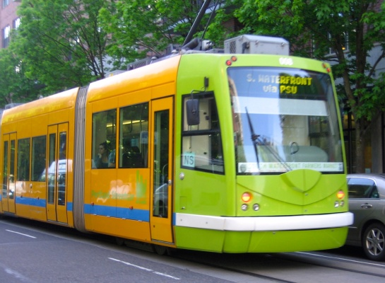 colorful streetcars