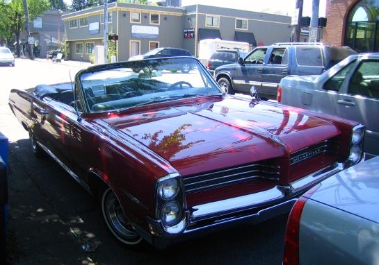 Pontiac Bonneville - 1965?
