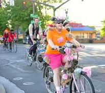 weird cyclist