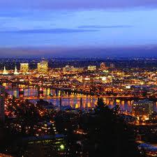 Portland evening