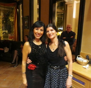 Pati & Willow at La Milonga del Carlton