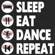 sleep eat dance