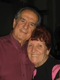 """Marta Antón con su pareja Manolo """"el Gallego"""""""