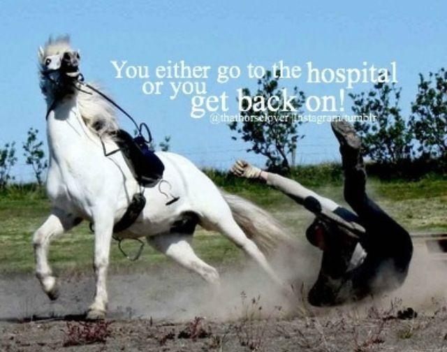 o vas al hospital o volves a subir!