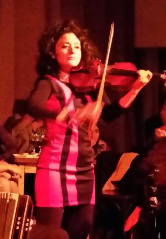 moradores violinista